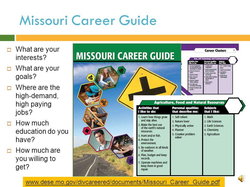 MERIC's Catalogue - Job Seekers