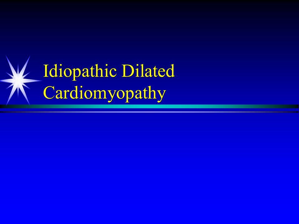 Idiopathic Dilated Cardiomyopathy
