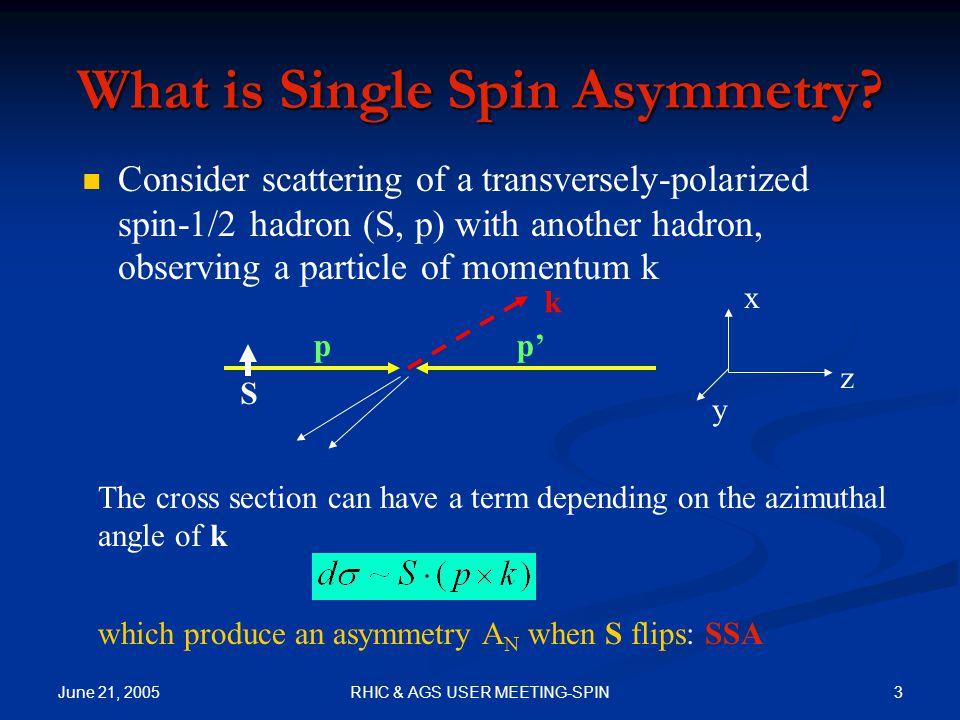 June 21, 2005 4RHIC & AGS USER MEETING-SPIN Sample Exp.