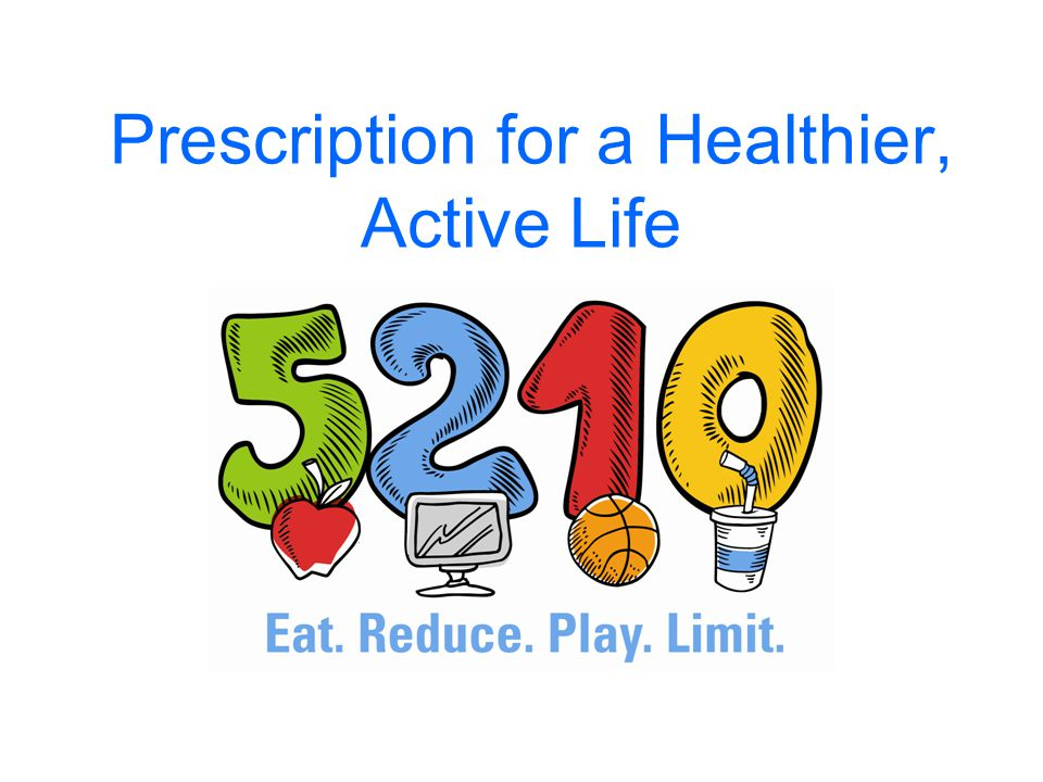 Ideas for Living a Healthy, Active Life Eat fruits and vegetables a day.