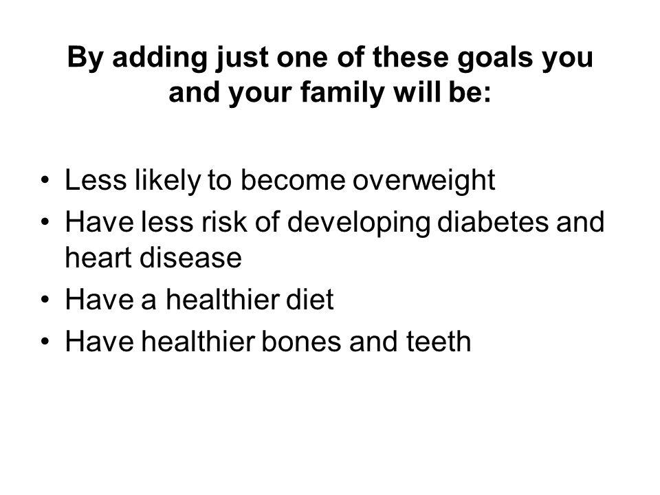 Help your children form healthy habits now.