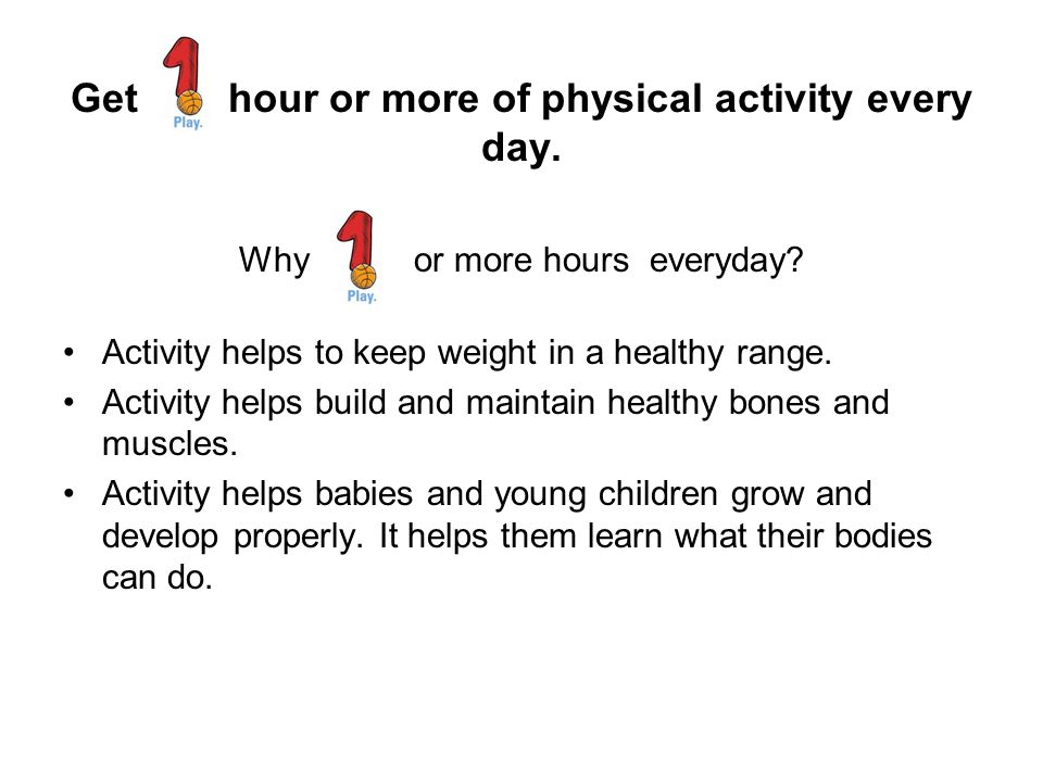 How to get your family active Parents should be the role model.