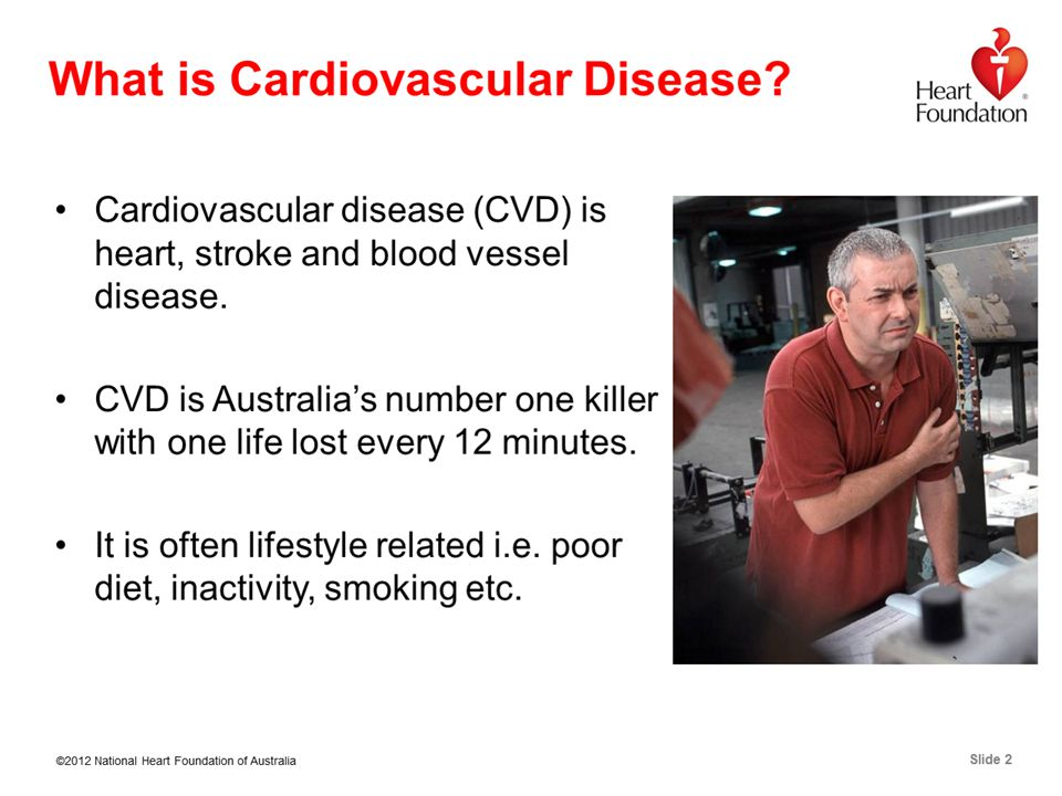 ©2012 National Heart Foundation of Australia Slide 2