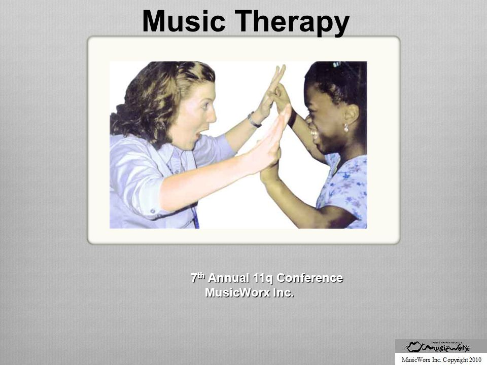 Neurologic Music Therapy Cognition: Attention and Perception Techniques  Music Sensory Orientation Training (MSOT)  Musical Neglect Training (MNT)  Auditory Perception Training (APT)  Musical Attention Control Training (MACT)  Selective  Sustained  Divided  Alternating