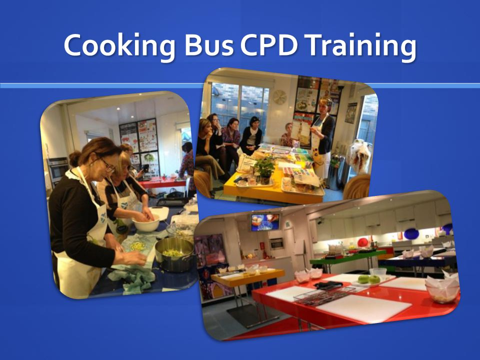 Cooking Bus CPD Training