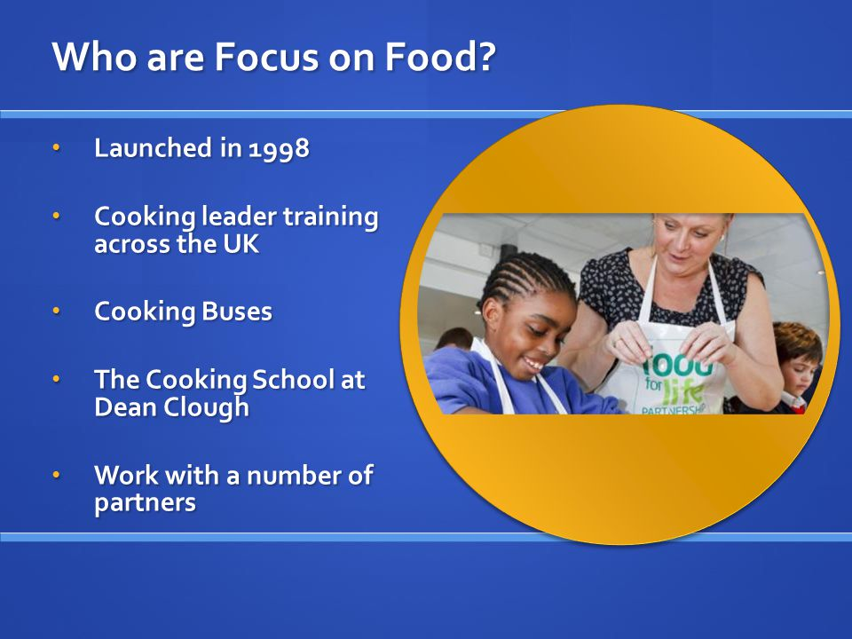 Contact us lois@focusonfood.org lois@focusonfood.org lois@focusonfood.org joanne@focusonfood.org for application packs and information about the application process and our resources joanne@focusonfood.org for application packs and information about the application process and our resources joanne@focusonfood.org