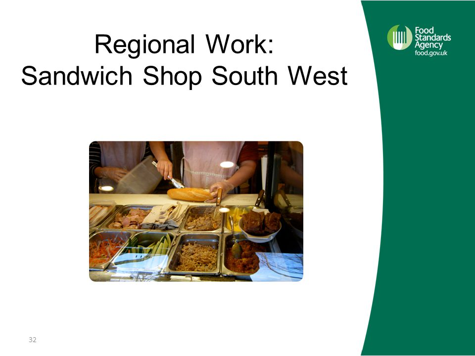 Regional Work: Sandwich Shop South West 32