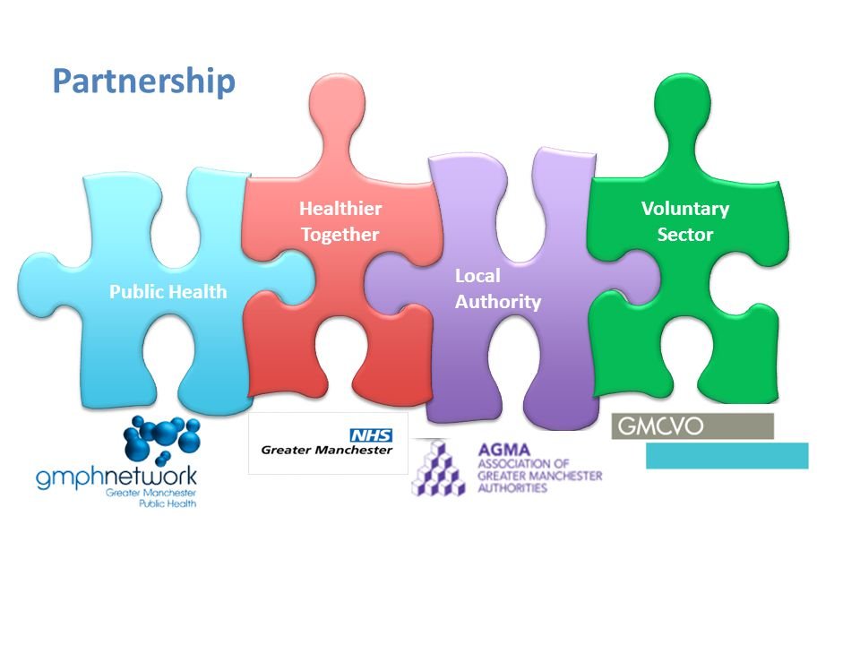Public Health Local Authority Healthier Together Partnership Voluntary Sector
