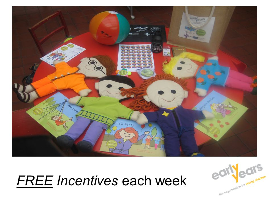 FREE Incentives each week