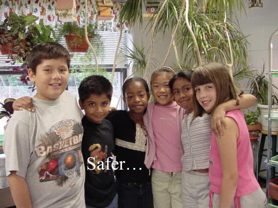 Safer…