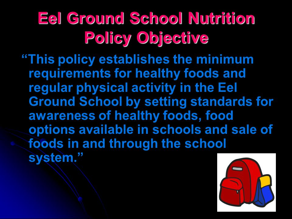 Health Promotion in Schools… School Food Policy Implementation Nova Scotia (2006) – staged implementation began New Brunswick (2007) – staged implemen