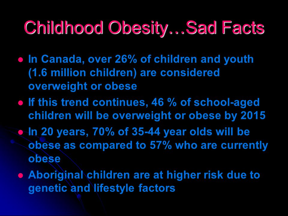 Childhood Obesity… Let's Step Towards A Healthier Future.