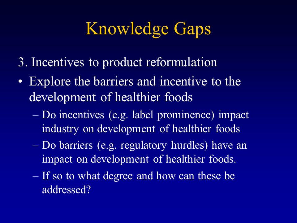 Knowledge Gaps 3.