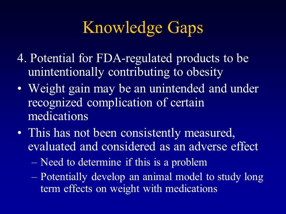 Knowledge Gaps 4.