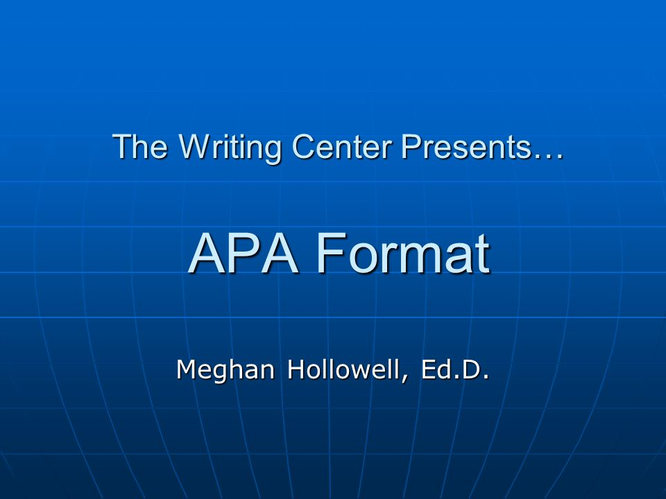 Why Do We Need APA.Avoid plagiarism--cite words and ideas of others.