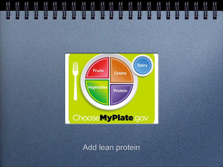 Add lean protein