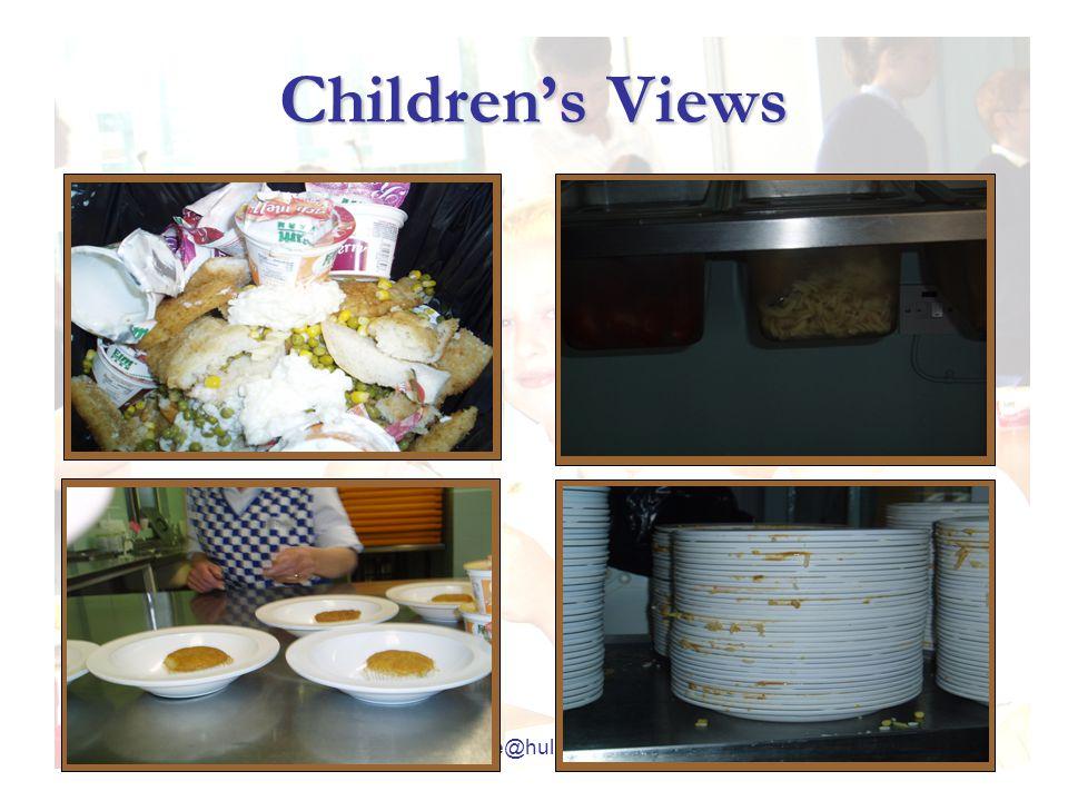 j.pike@hull.ac.uk Children's Views