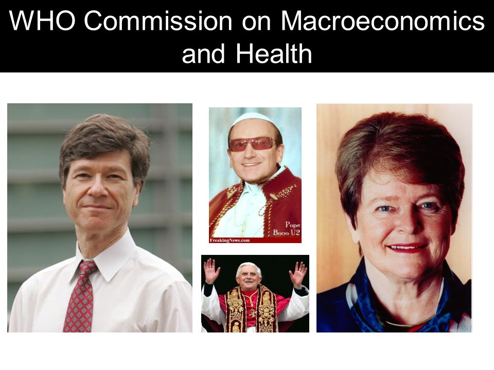 WHO Commission on Macroeconomics and Health