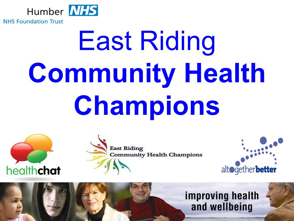 East Riding Community Health Champions