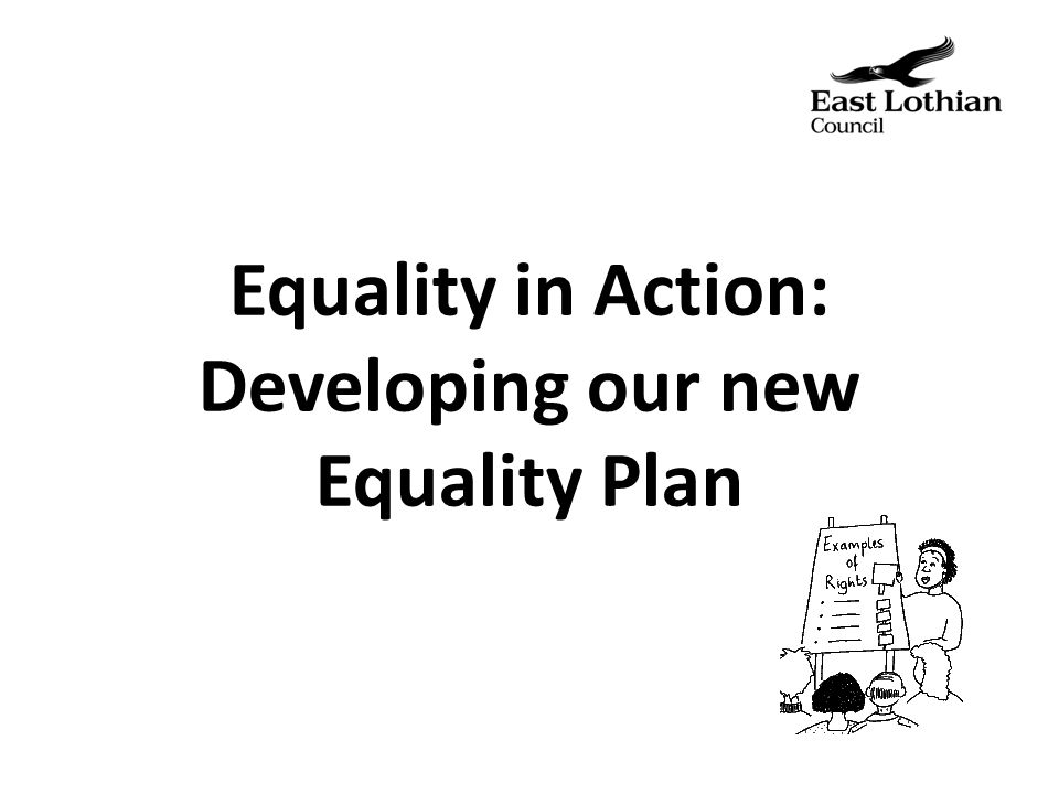 What is an Equality Plan.