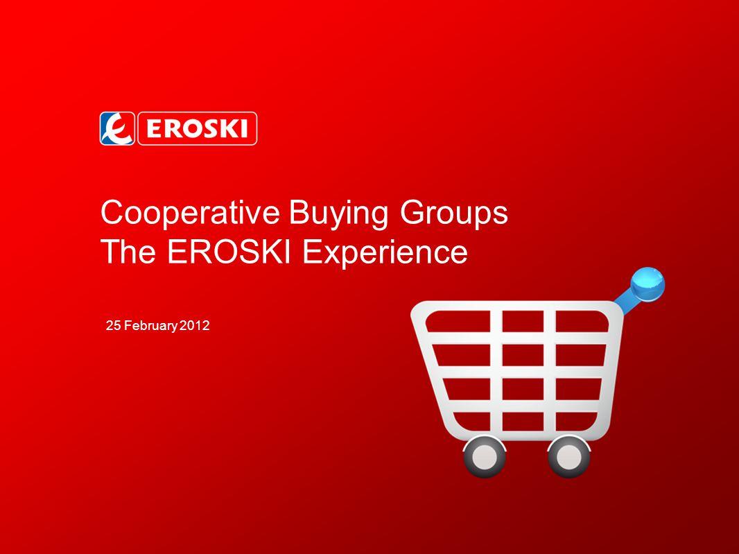 22 02 EROSKI and Partnerships A Sales in 2010 (€bn) EUROPEAN RANKING Alidis, 3rd in Europe