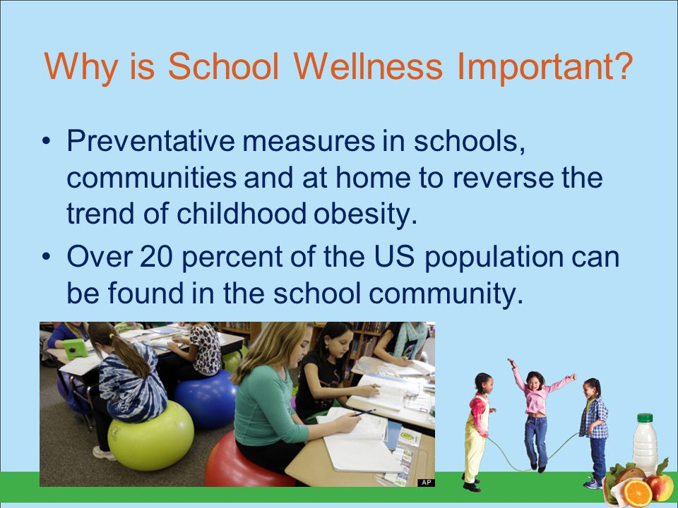 Why is School Wellness Important.