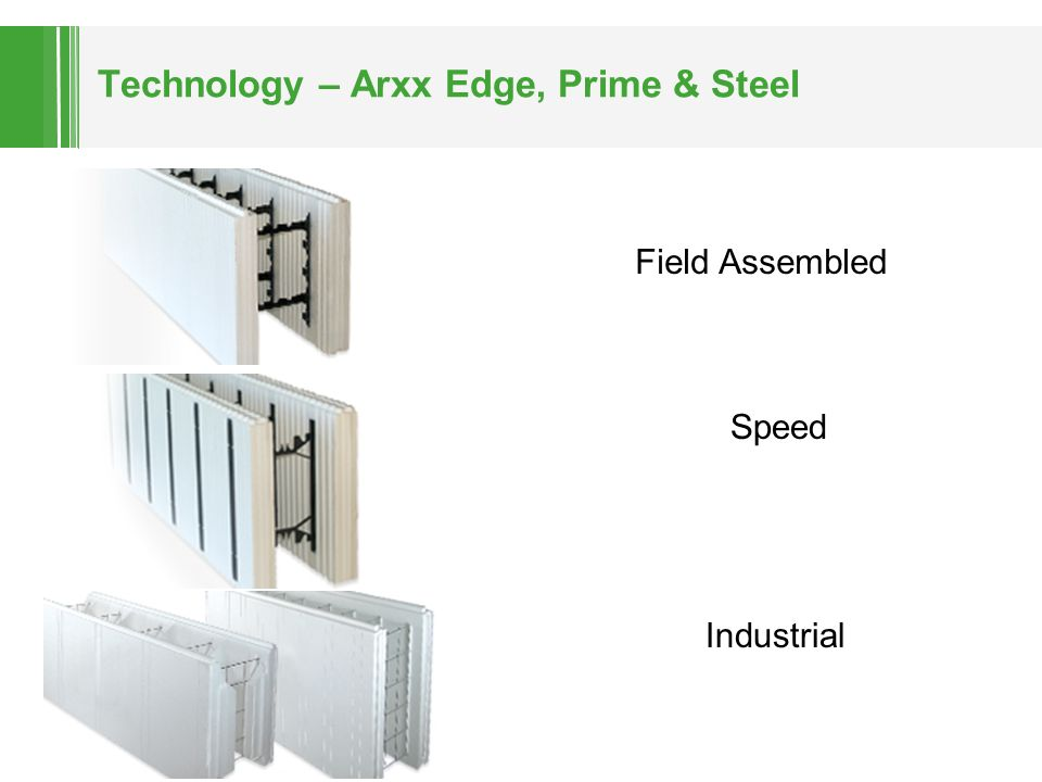 Technology – Arxx Edge, Prime & Steel Speed Field Assembled Industrial