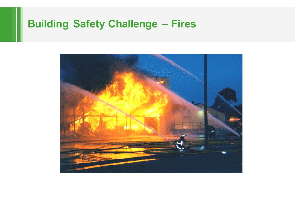 Building Safety Challenge – Fires