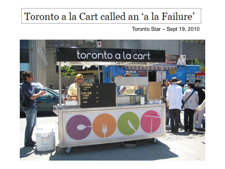 Toronto Star – Sept 19, 2010