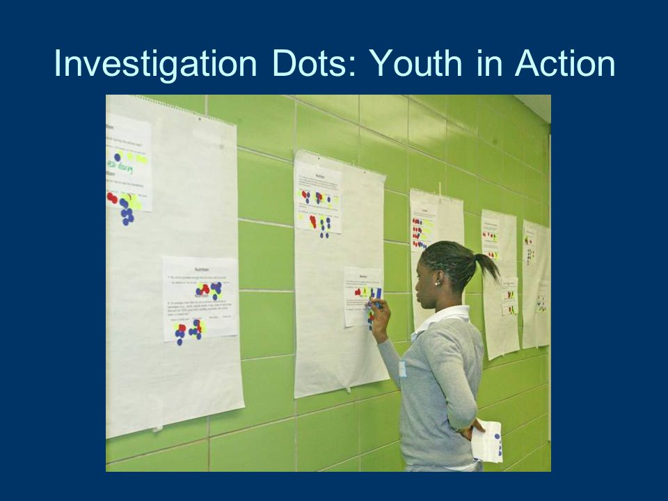 Investigation Dots: Youth in Action