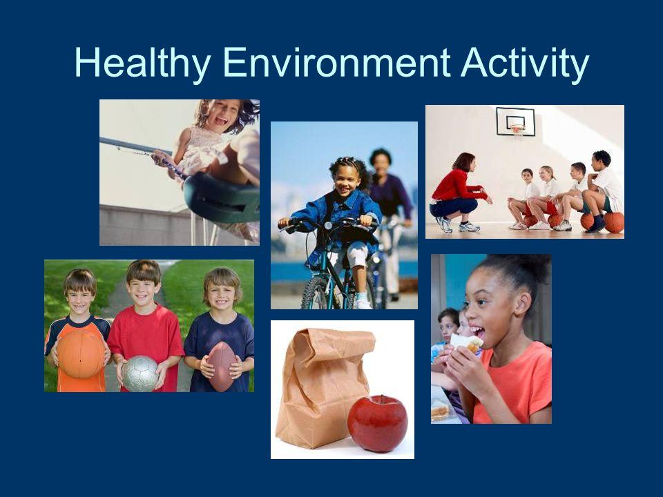 Healthy Environment Activity