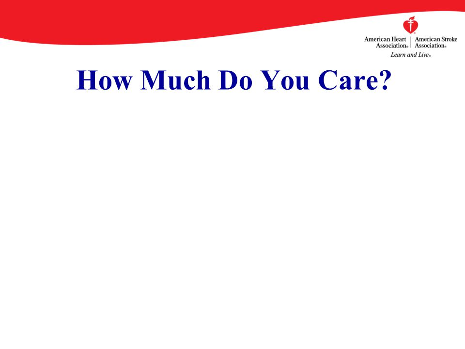 How Much Do You Care