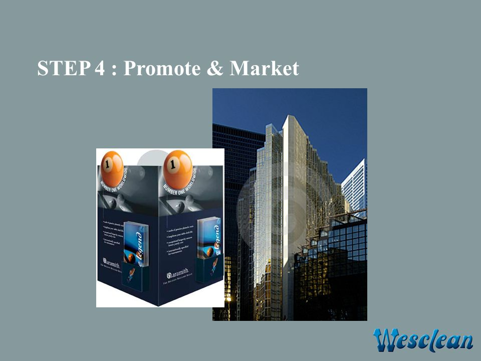 STEP 4 : Promote & Market