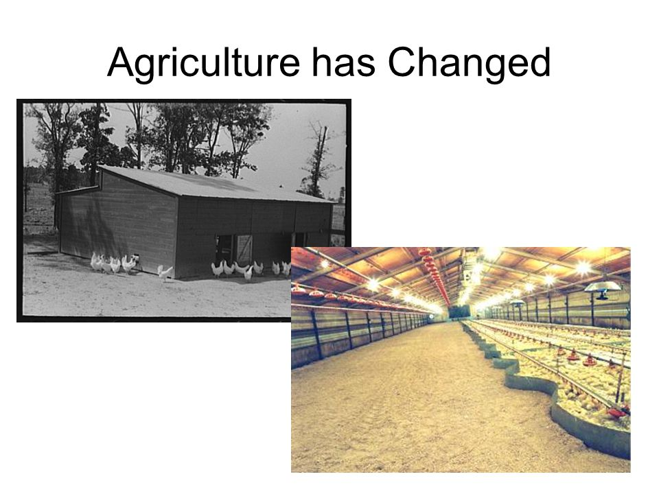 Agriculture has Changed