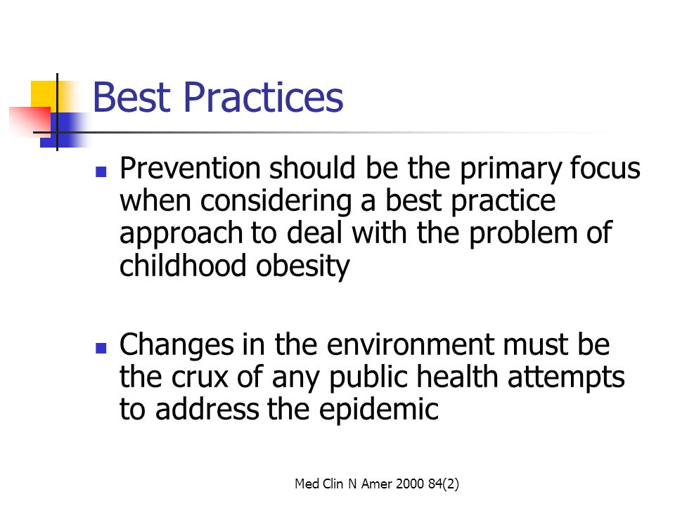 Preventing Childhood obesity Health in Balance IOM 2005 Dr Kaplan, chair of IOM Report on Preventing Childhood Obesity changes are needed in our schools and communities, as well as at the national level.