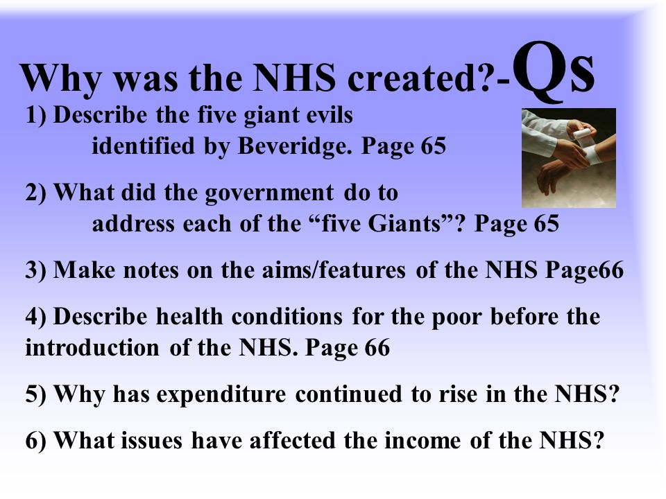 """The NHS 1948 Nye Bevan was the Minister of Health who oversaw the creation of the NHS. """"Administration will be the chief headache for years to come"""" A"""