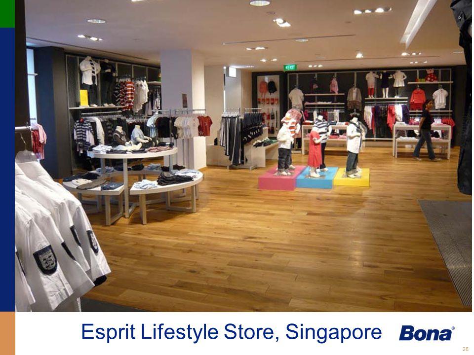 25 Esprit Lifestyle Store, Singapore