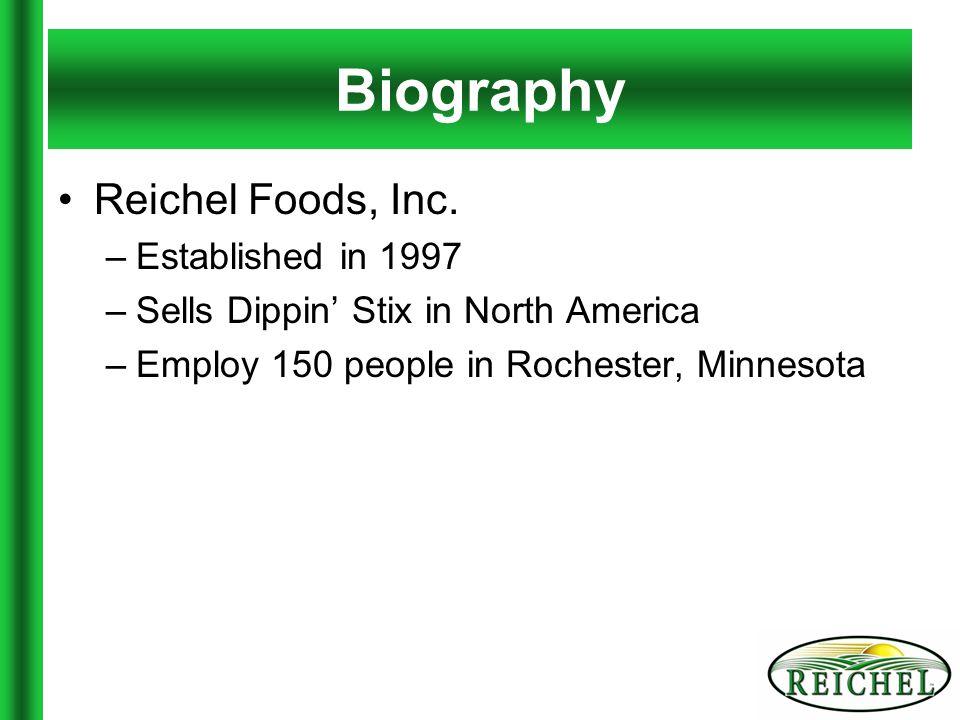 Overview Reichel Foods, Inc.
