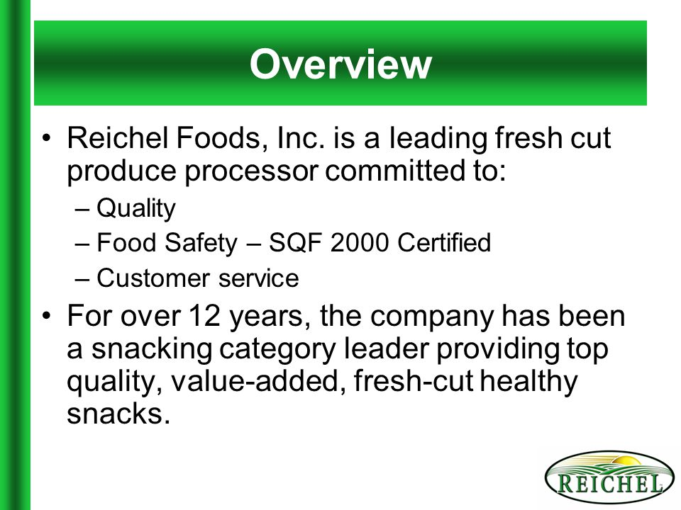 Products Dippin' Stix products are best known for extended shelf life accomplished through: –Unique sustainable packaging –Strict quality standards –Technology –Innovation Our most popular products: –Apples & Caramel Dip –Carrots & Ranch Dip Must be kept refrigerated