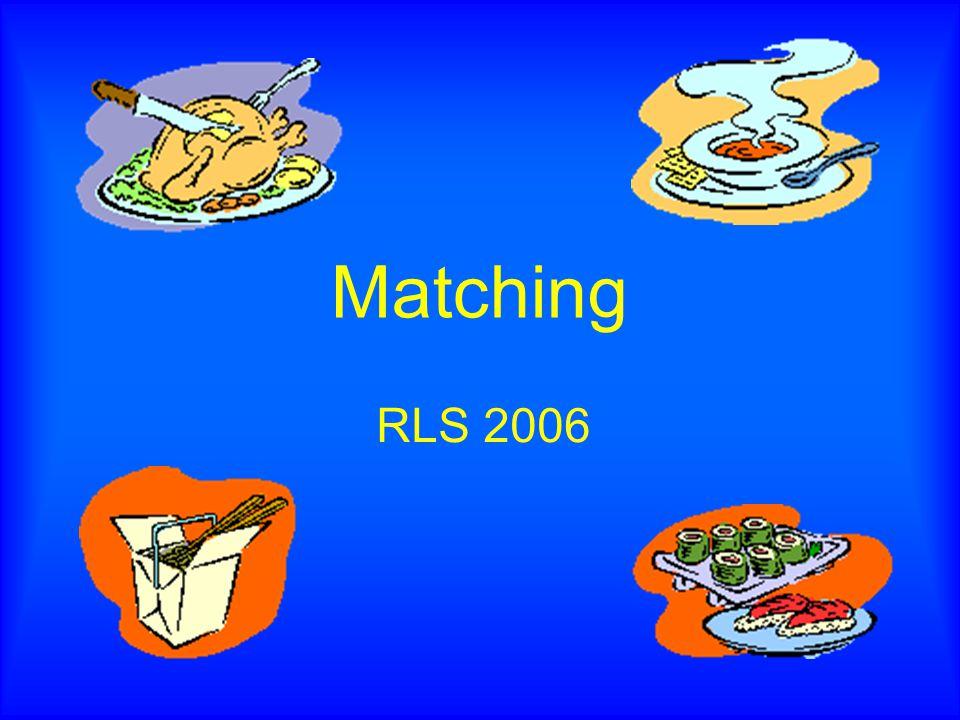 Matching RLS 2006