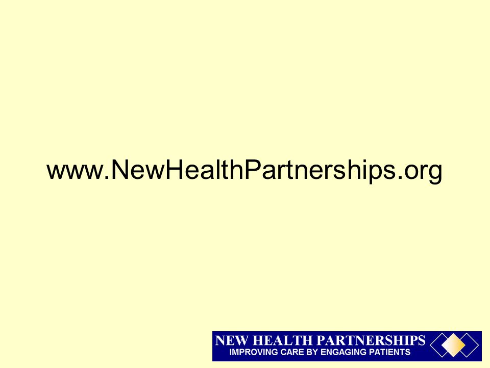 www.NewHealthPartnerships.org
