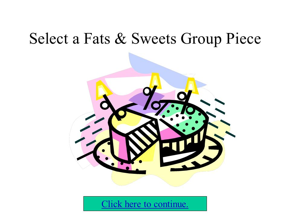 Select a Bread, Cereal, & Grain Group Piece Click here to continue.