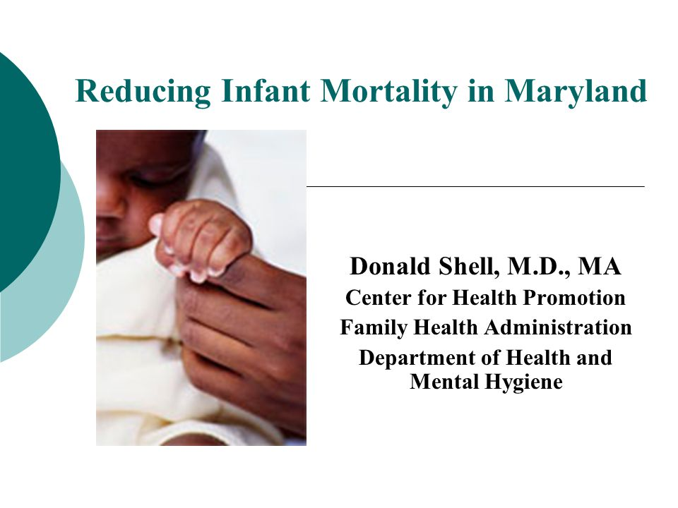 22 Socio-demographic Risks: Racial Disparities Go Beyond Socio-Economic Factors Data Sources: MD DHMH, Vital Statistics Administration Infant Mortality Rate by Maternal Education and Race / Ethnicity, Maryland 2005-2009