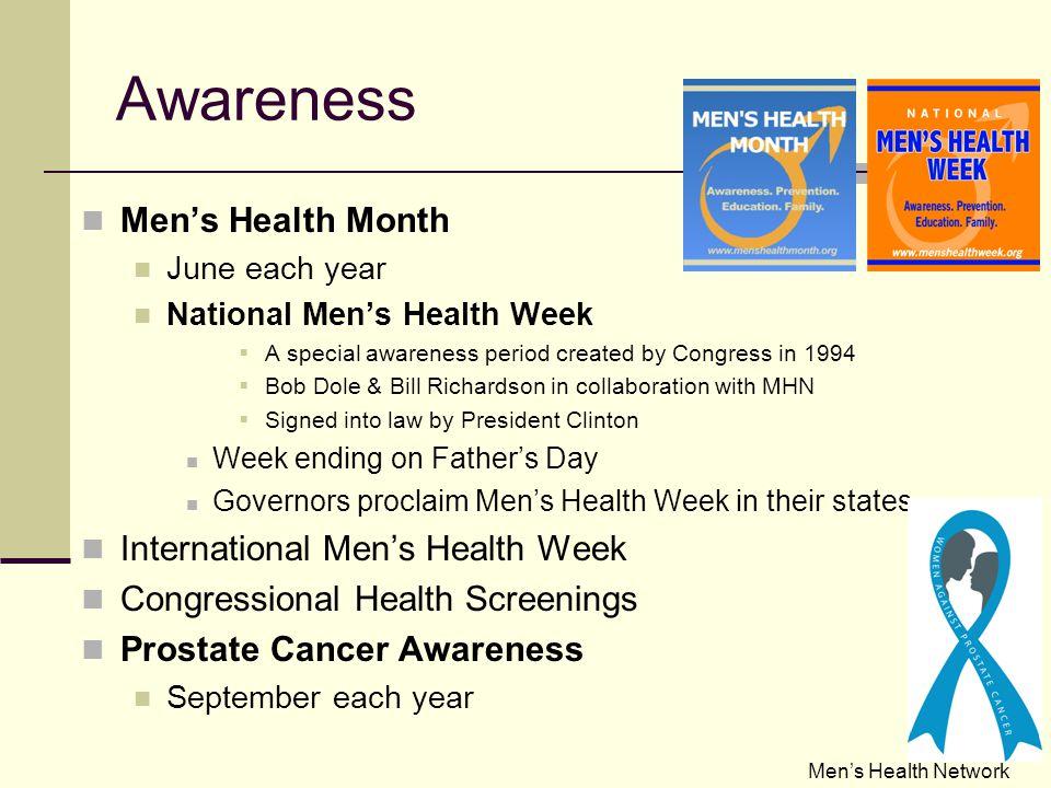 Men's Health : The Facts Men's Health Network