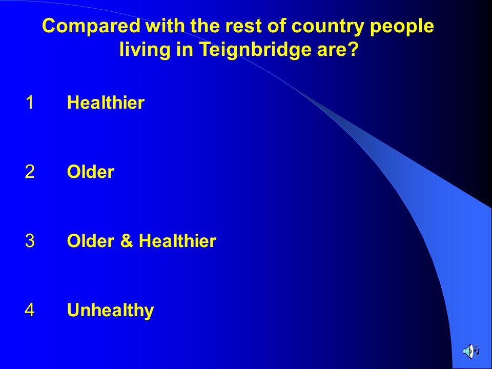 Teignbridge PCT Devon County Show 2004 Who wants a Healthier Teignbridge