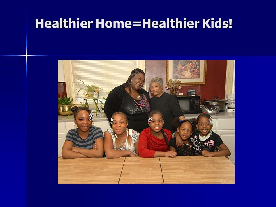 Healthier Home=Healthier Kids!