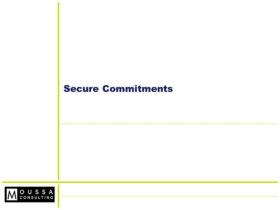 Secure Commitments