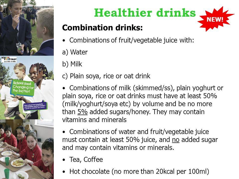 Healthier drinks NEW.