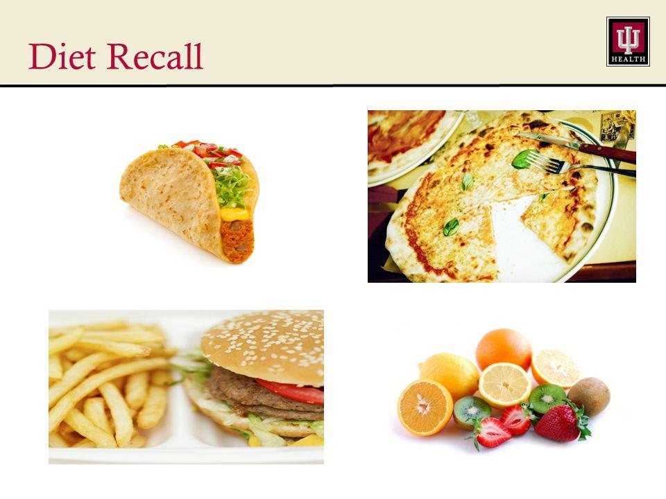 Diet Recall