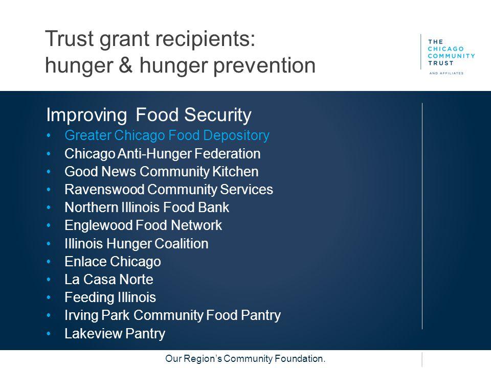 Our Region's Community Foundation.